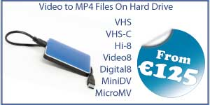 MicroMV, MiniDV, Super 8, 8mm, 16mm, CD, DVD, BD-R, Blu-Ray, cassette, floppy, duplication, replication, 35mm, Cine, movies, home, film, USB, transfer, wedding, CD, DVD, conversion, convert, copy, tape, audio, cassette, vinyl, records, mugs, print, canvas, photo, scan, scanning, Video, VHS-C, S-VHS, Digital8, mp4, hard drive, VHS, Betamax, Hi-8, video-8, Swords, Camcorder, North, County, Dublin, Cork, Donegal, Galway, Kerry, Kildare, Kilkenny, Leitrim, Limerick, Longford, Louth, Laois, Mayo, Meath, Monaghan, Offaly, Roscommon, Sligo, Tipperary, Waterford, Westmeath, Wexford, Wicklow, Carlow, Cavan, Clare, Fermanagh, Armagh, Tyrone, Down, Antrim, Derry, Londonderry, Drogheda, Dundalk, Swords, Bray, Navan, Ennis, Tralee, Newbridge, Naas, Athlone, Portlaoise, Mullingar, Balbriggan, Letterkenny, Cellbridge, Clonmel, Greystones, Malahide, Leixlip, Carrigline, Tullamore, Killarney, Arklow, Maynooth, Cobh, Castlebar, Midleton, Mallow, Ashbourne, Laytown, Bettystown, Mornington, Ballina, Enniscorthy, Tramore, Athy, Shannon, Skerrries, Dungarvan, Portmarnock, Rush, Gorey, Ratoath, Nenagh, Trim, Tuam, New Ross, Thurles, Youghal, Portarlington, Lusk, Edenderry, Dunboyne, Buncrana, Donabate, Clance, Ballinasloe, Bandon, Fermoy, Newcastle West, Westport, Carrick-On-Suir, Kells, Birr, Kinsealy, Drinan, Passage West, Kilcock, Roscrea, Sallins, Loughrea, Blessington, Ardee, Carickmacross, Kinsale, Ballybofey, Stranorlar, Listowel, Oranmore, Mountmelik, Clonakilty, Carrigtwohill, Cashel, Kilcoole, Duleek, Carrick-on-Shannon, Tullow, Athenry, Belfast, Lisburn, Newtownabbey, Bangor, Craigavon, Castlereagh, Ballymena, Newtownards, Newry, Carrickfergus, Coleraine, Omagh, Larne, Banbridge, Enniskillen, Strabane, Limvardy, Holywood, Dungannon, Cookstown, Downpatrick, Ballymoney, Comber, Ballyclare, Magerafelt, Portstewart, Newcastle, Warrenpoint, Carryduff, Donaghadee, Portrush, Kikeel, Ballynahinch, Ballycastle, Greenisland, Dromore, Randelstown, Coalisland, Crumlin, Maghera, Whitehead, Moira, Hillsborough, Eglington, Ahoghill, Tandragee, Dungien,